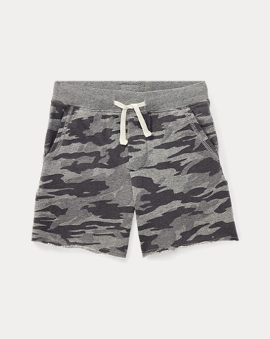 Shorts aus French-Terry-Baumwolle