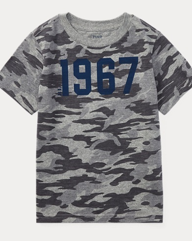 Camo Cotton Jersey T-Shirt