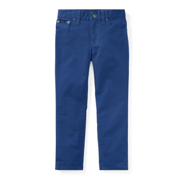 Ralph Lauren Varick Stretch Cotton Pant Old Royal 2T