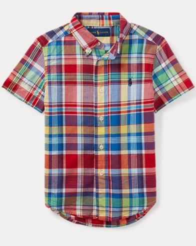 Cotton Madras Shirt