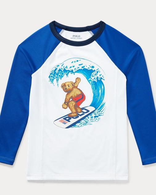 093af0a3a8 Surfer Bear Rash Guard