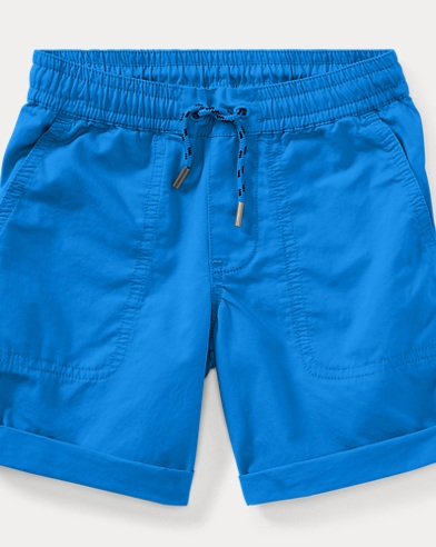 Relaxed Fit Cotton Short