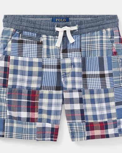 Straight Fit Madras Short