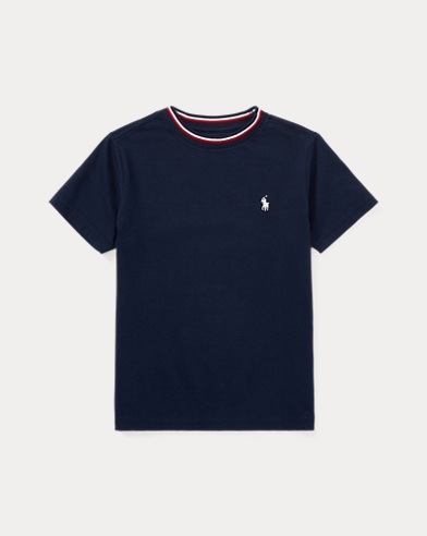 Cotton Jersey Ringer T-Shirt