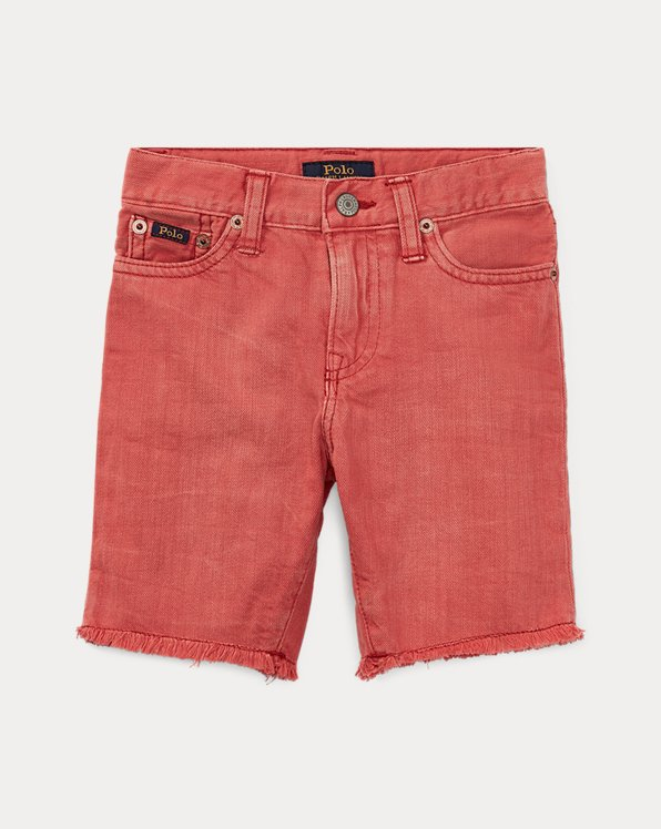 Slouch Slim Fit Denim Short