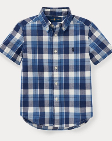 Cotton Madras Sport Shirt