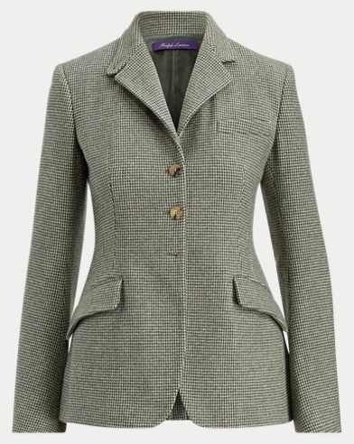 Becket Checked Wool Jacket