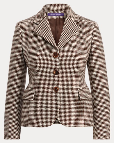 Keaton Houndstooth Jacket