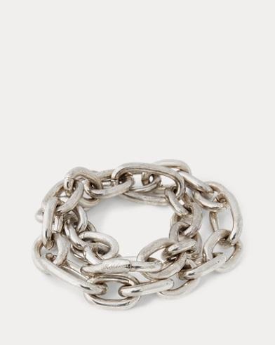 Silver-Plated Link Bracelet