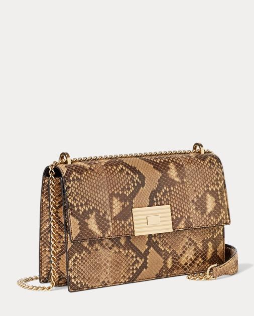 4c25a5f3aa2a Ralph Lauren Python RL Chain Bag 2