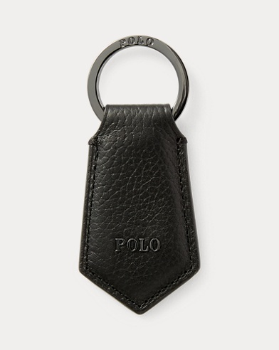 Polo Leather Key Fob