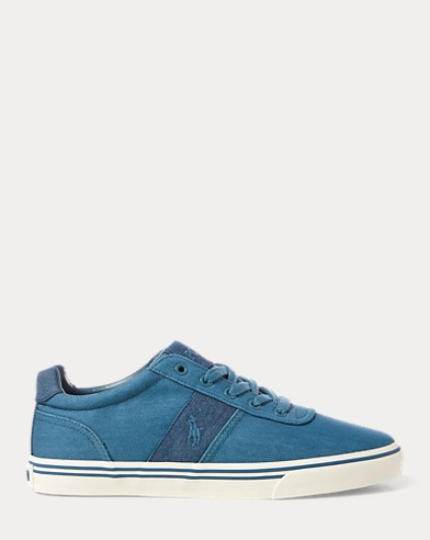 Sneaker Hanford basse in denim