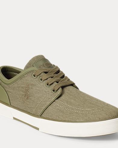 Sneaker Faxon in twill lavato