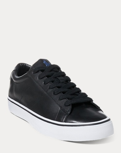 Sayer Calfskin Low-Top Trainer