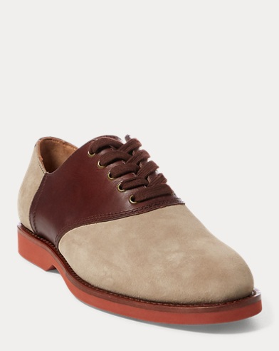 Orval Suede Saddle Shoe