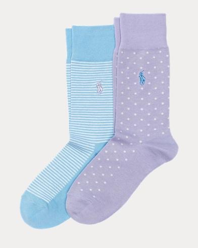 Dot & Stripe Sock 2-Pack