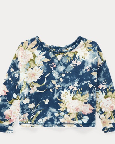Floral French Terry Sweatshirt