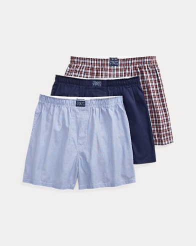 Assorted Cotton Boxer 3-Pack