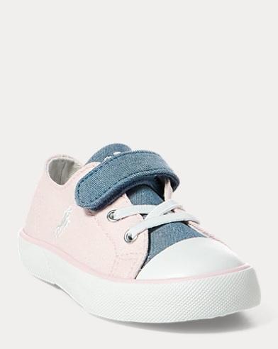 Niedriger Segeltuchsneaker Koni