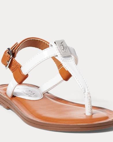 T-Strap-Sandale Gala mit Lackoptik