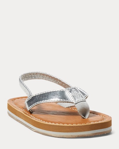 Lia Faux-Leather Sandal