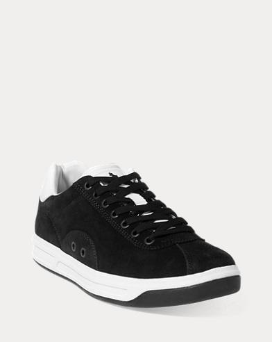 Sneaker Court 100 in camoscio