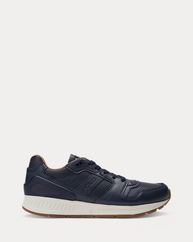 Train 100 Leather Sneaker