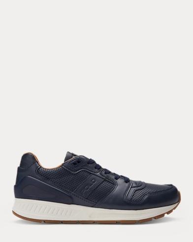 Ledersneaker Train 100