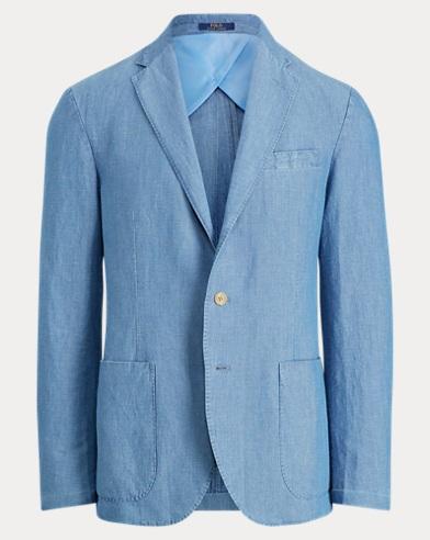 Morgan Chambray Suit Jacket