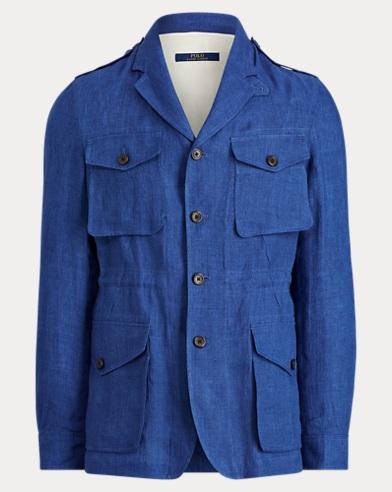 Linen Twill Field Sport Coat