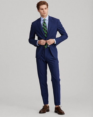 Polo Stretch Wool Suit