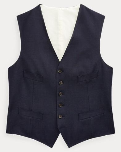 Nailhead Wool Vest