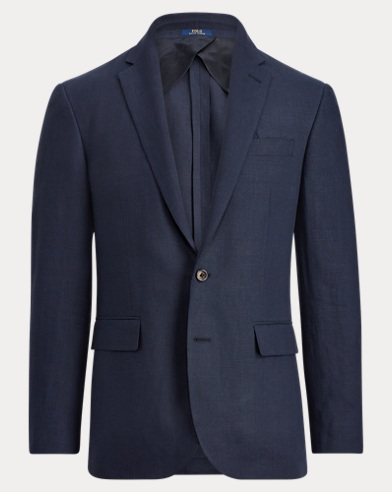 Polo Worsted Linen Suit Jacket