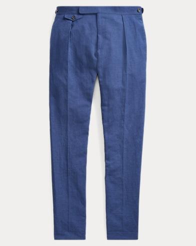 Cotton-Linen Suit Trouser