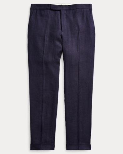 Polo Linen Suit Trouser