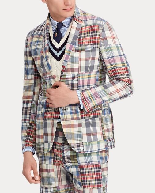 Polo Ralph Lauren Morgan Madras Sport Coat 3