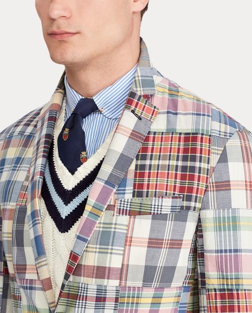 Polo Ralph Lauren Morgan Madras Sport Coat 5