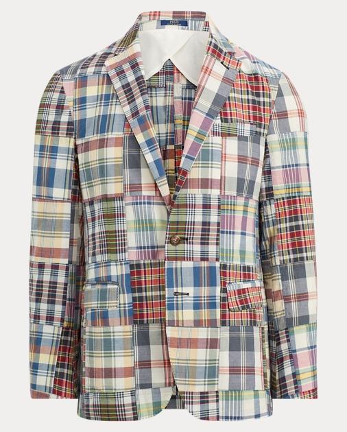 Polo Ralph Lauren Morgan Madras Sport Coat 1