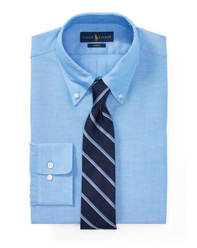 Slim-Fit Anzughemd