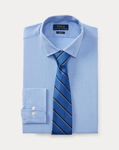 Slim-Fit Ratière-Hemd mit Muster