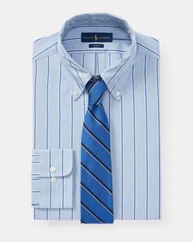 Slim-Fit Hemd mit Streifen