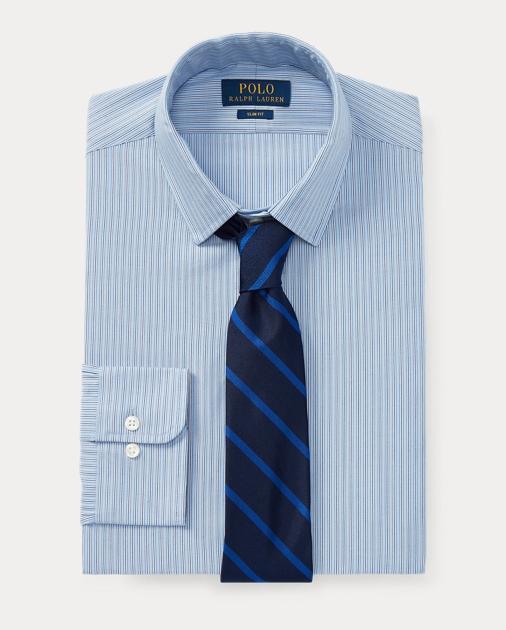 0fc5471b52aa Polo Ralph Lauren Slim Fit Striped Oxford Shirt 1