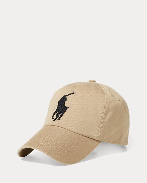8abd65f8c6def Polo Ralph Lauren Big Pony Chino Baseball Cap 1