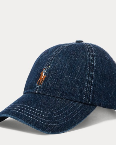 Casquette de baseball en denim