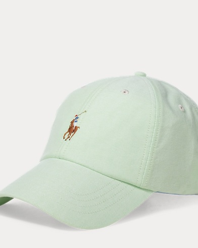 Cotton Oxford Baseball Cap