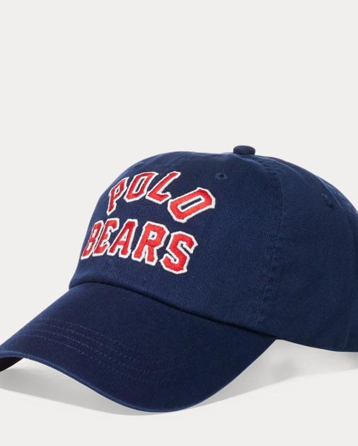 cff78ba339af7 Polo Ralph Lauren Polo Bears Chino Baseball Cap 1