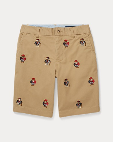 Polo Bear Slim Fit Chino Short