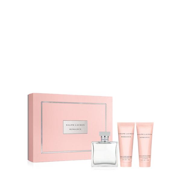 Ralph Lauren Romance 3-Piece Set Pink Gift Set