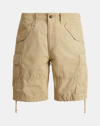 Classic Fit Cotton Cargo Short