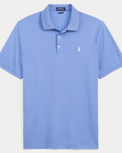 Classic Fit Stretch Mesh Polo